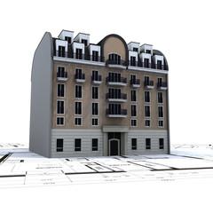 immeuble et plan