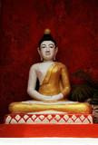 thailand, chiang rai: temple poster