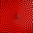 red dots twirl