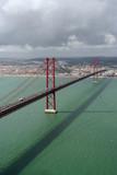 lisbon bridge poster