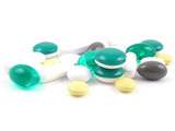 various pills poster