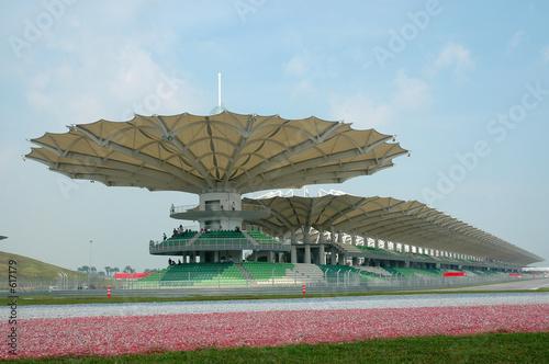 Fotobehang Formule 1 race track