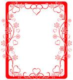valentine frame poster
