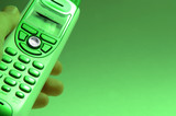 green telephone poster