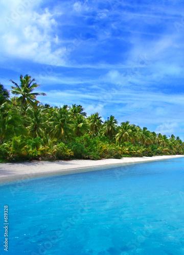 Leinwandbild Motiv tropical coast