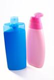 shampoo bottles poster