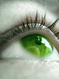 ojo verde 4 poster