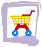 toy shopping trolley poster