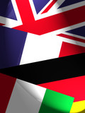 national flags poster