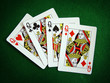 four queen playing cards