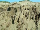 sand cliffs poster