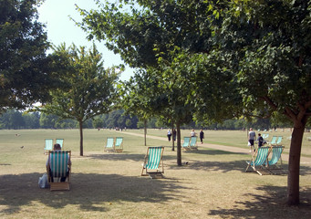 hyde park relaxing