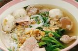 thailand: noodle soup poster