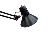 black desk lamp poster