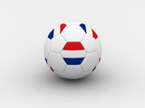 netherlands soccer ball poster