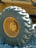 tractor tire poster