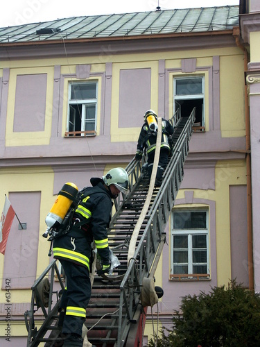 feuermänner in aktion