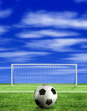 football - penalty kick poster
