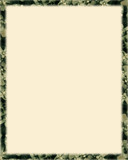 desert plants border poster