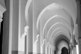 arches in black and white ii poster