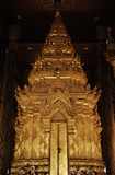 thailand, lampang: wat phra that lampang luang tem poster
