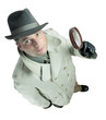 detective with magnifying glass 2