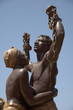 detail of statue of slaves