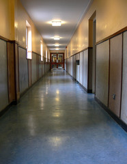 corridor day