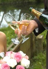 mariage champagne
