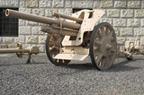 german field howitzer poster