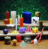 all types of candles poster