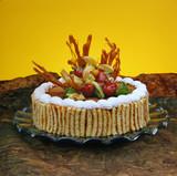 delicious dessert cake poster