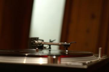 needle on record
