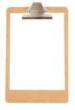 blank clipboard poster