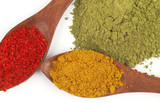 colorful spices poster