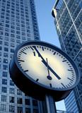 corporate clock poster