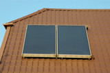 flat-plate solar energy collector poster