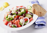 greek  salad poster