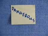dangerous poster