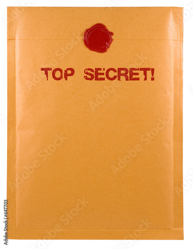 poster of top secret mail