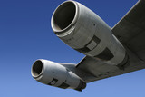 jet engine wing 4 poster