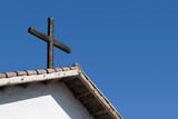 roof cross poster