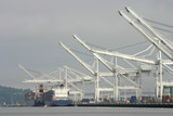 ships at port poster