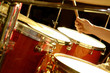 drum performance - music band