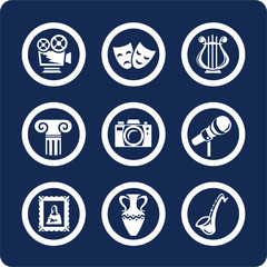 culture and art icons (set 12, part 1)