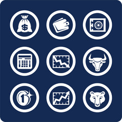 money and finance icons (set 10, part 2)