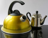 kettle and tea-pot poster