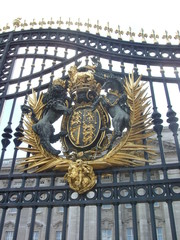 emblem on palace gate