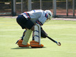 goalkeeper bent over