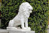 lion ornament poster